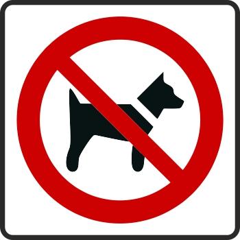 zákaz so psom